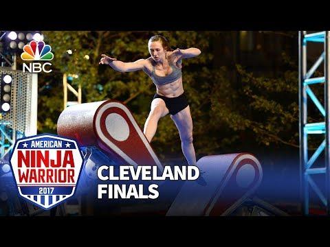 Allyssa Beird at the Cleveland Finals - American Ninja Warrior 2017