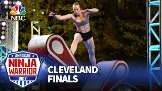 Allyssa Beird at the Cleveland City Finals - American Ninja Warrior 2017