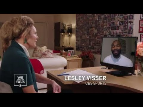 Lesley interviews Dr. Myron Rolle, former NFL player, now neurosurgeon