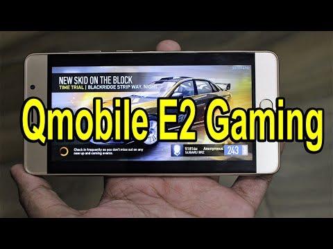 Qmobile E2 Gaming Test | Uddta Gujjar !!