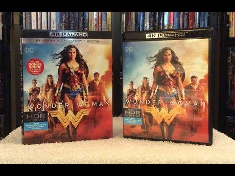 Wonder Woman 4K BLU RAY UNBOXING + Review - Gal Gadot