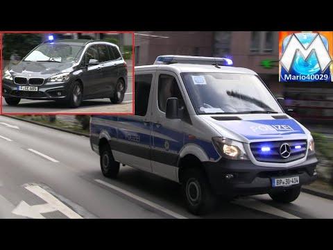 [Frankfurt] Bankraub Mit Flucht - Alarmfahrten Polizei