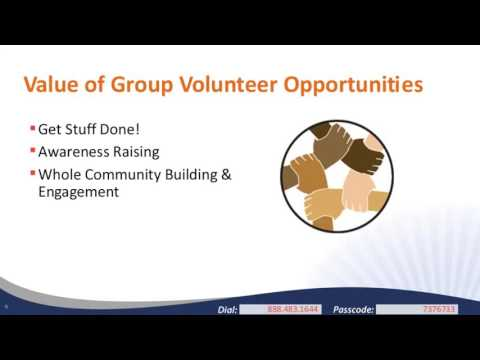 Creating Group Volunteer Opportunities that Engage and Inspire