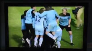 man city 3 2 qpr pitch invasion title win 2012