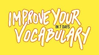 Download Video How To Improve Your English Vocabulary in 7 Days MP3 3GP MP4