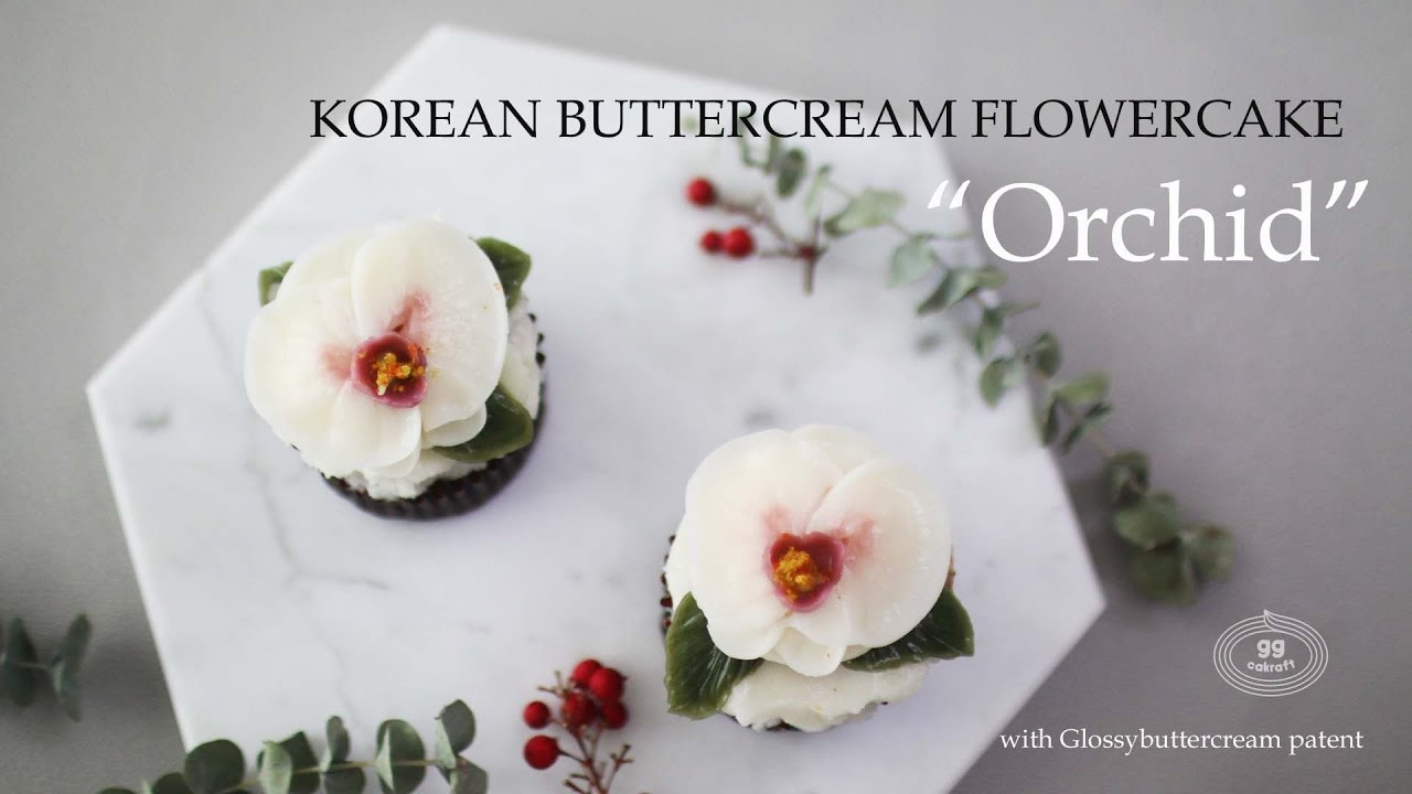 G G How To Pipe The Orchid Bettercream Flowercake