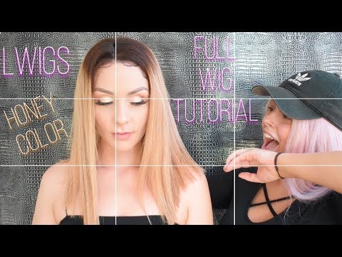 Full Wig Tutorial For A Night Out  LWIGS