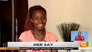 HER SAY | Kate Adeje is a young sign language interpreter