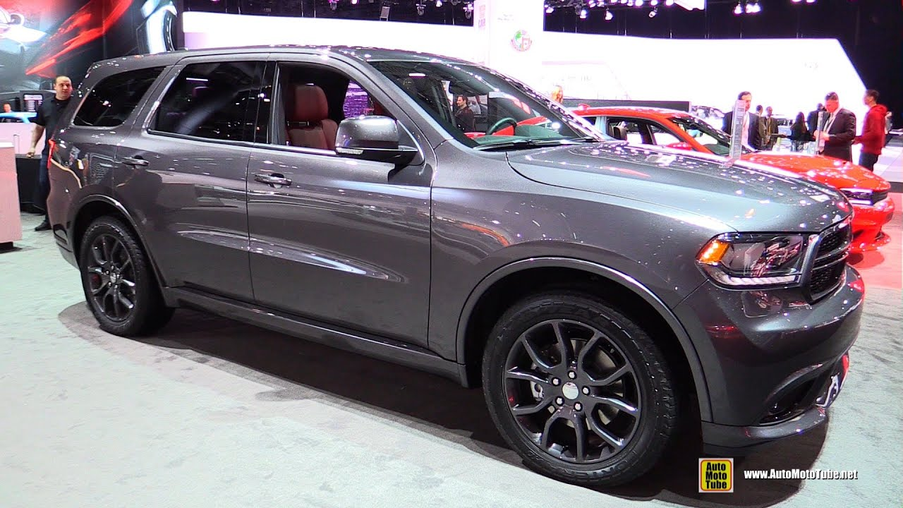 2015 Dodge Durango R/T AWD   Exterior And Interior Walkaround   2015 New  York Auto Show   YouTube Awesome Design