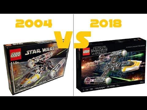 LEGO STAR WARS UCS - 75181 Y-wing Starfighter VS 10134 Y-wing Attack ...