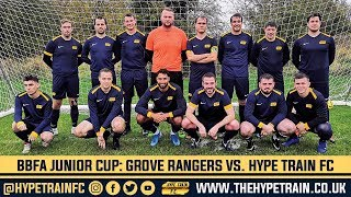BBFA Junior Cup (Round 2) Match Highlights: Grove Rangers vs. Hype Train FC