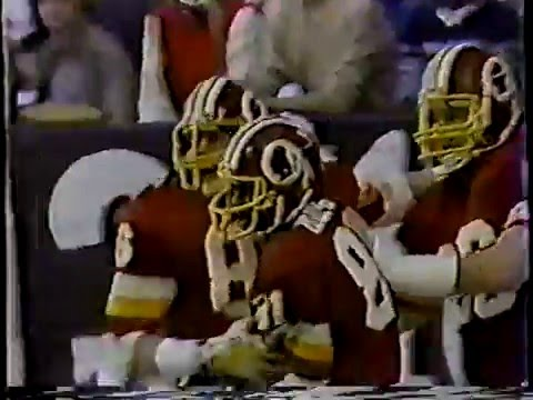 57- Joe Theismann 40yd pass to Clint Didier