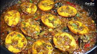 Pepper Egg Curry |  Pepper Fried Egg Masala Recipe | Egg Pepper Fry | Cook Best