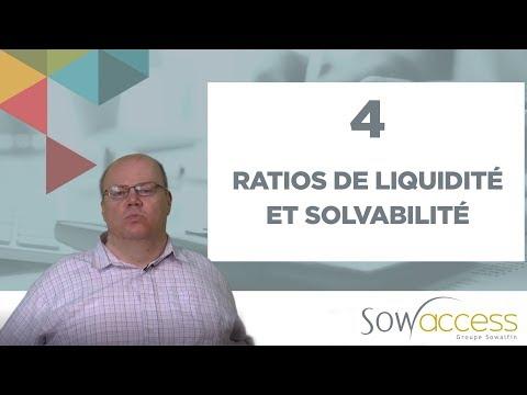 4. Les clés de l'équilibre financier. 2ème partie : Ratios de liquidité et solvabilité