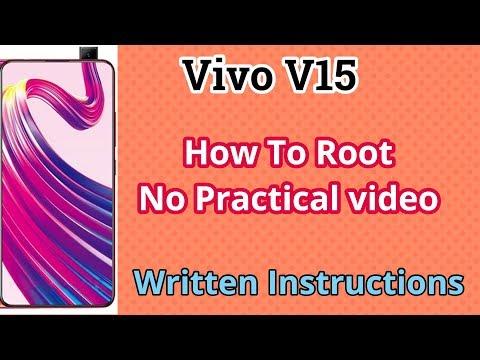 Root Vivo Y15 via PC..