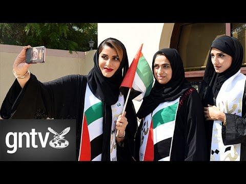 Emiratis and residents celebrate UAE Flag Day