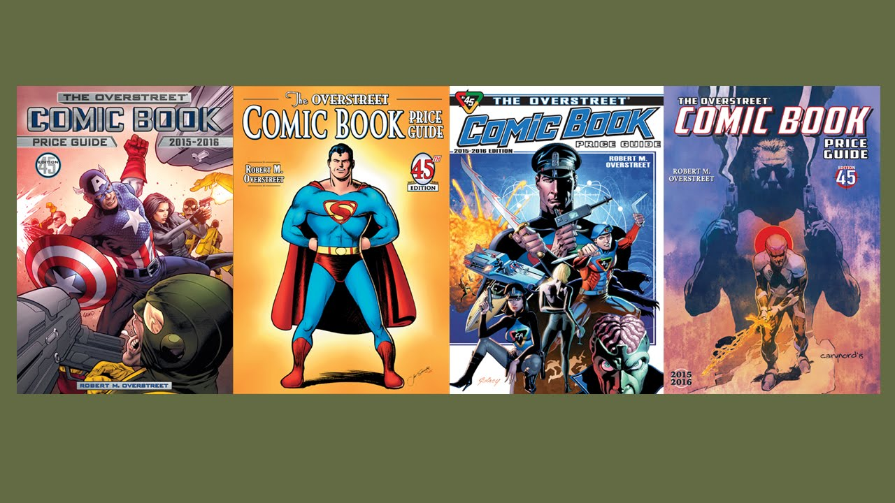 The Overstreet Comic Book Price Guide At 45 - YouTube