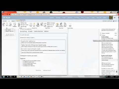SharePoint 2013 Tutorial: Creating an Employee Directory