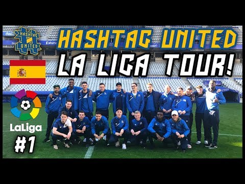 HASHTAG UNITED IN SPAIN @ REAL OVIEDO - #HTULaLigaTour!
