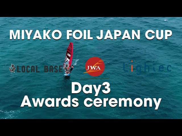 MIYAKO FOIL JAPAN CUP 2021  Day3 Awards ceremony