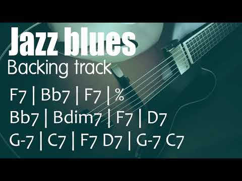 Jazz Blues Play-along In F - Medium Swing - 140 BPM
