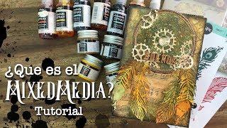 Tutorial Caja Mixed Media steampunk
