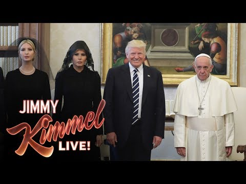 Thumbnail: Jimmy Kimmel on Trump's Visit with the Pope