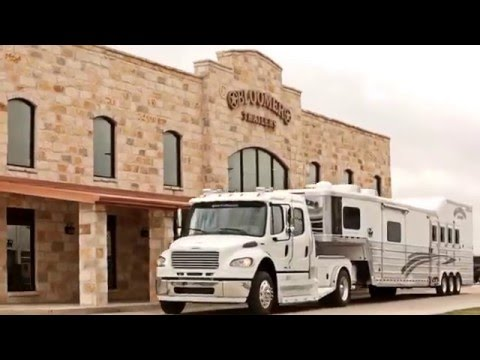 New Bloomer Horse Trailers For Sale near Houston, TX and Oklahoma City, OK