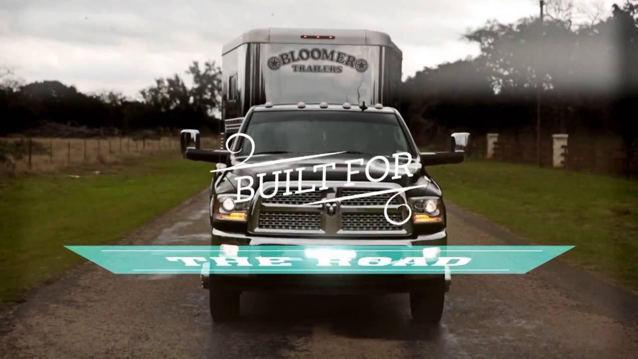 Horse Trailers For Sale Oklahoma City Ok >> New Bloomer Horse Trailers For Sale near Houston, TX and Oklahoma City, OK - YouTube