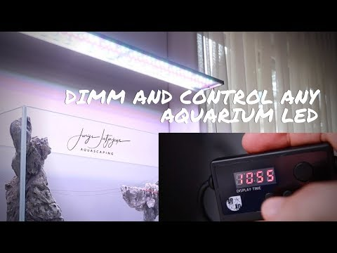 This Little Box Will Blow Your Mind 🤯 - BEST AQUARIUM LED REMOTE - With Build In Timer And Dimmer
