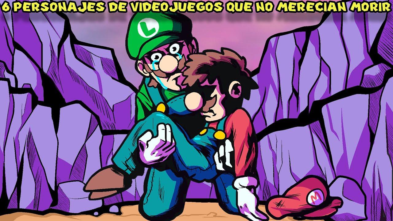 6 Personajes de Videojuegos QUE NO MERECÍAN MORIR - Pepe el Mago