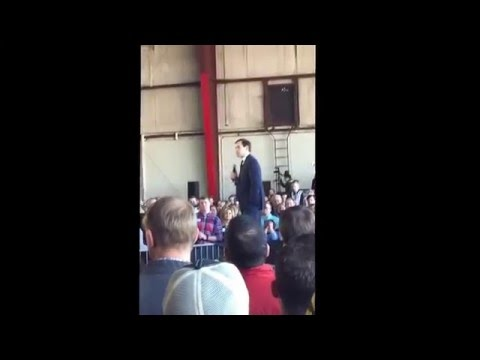 Marco Rubio in Knoxville TN 2/29/2016 Republican Presidential Primary