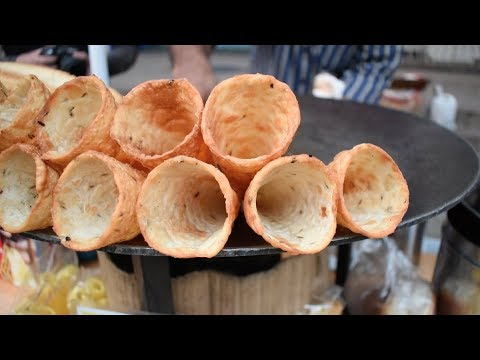 BHAJI CONE | INCREDIBLE Indian Street Food | Tanatan Cheesy Toast