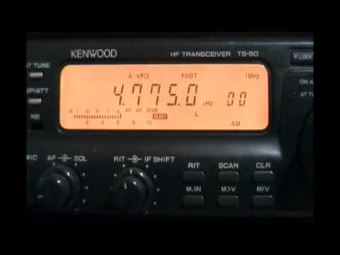 Trans World Radio (Manzini, Swaziland) in english - 4775 kHz