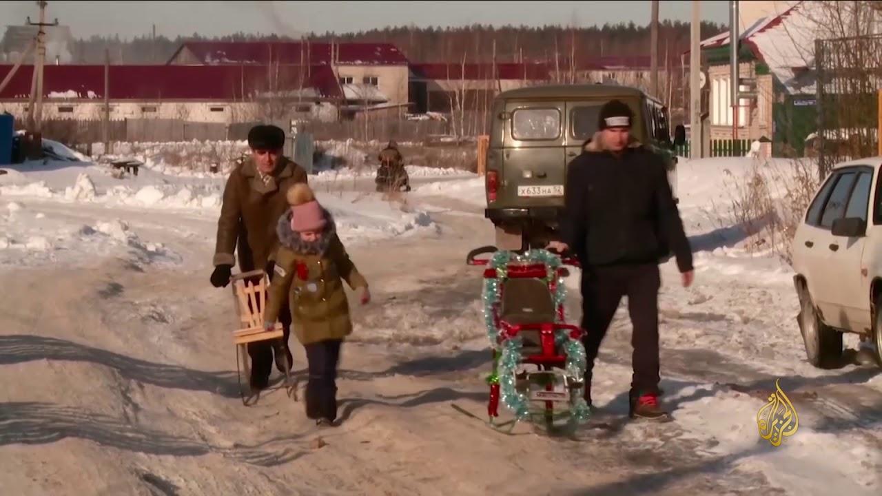 الجزيرة:هذا الصباح- الفينكي.. وسيلة التنقل الرئيسية فوق الجليد الروسي