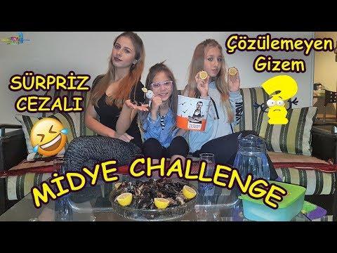MİDYE YEME YARIŞMASI (ÇÖZÜLEMEYEN GİZEM) Eğlenceli Çocuk Videosu