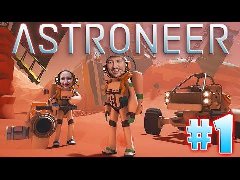 Probando Juegos: ASTRONEER #1 - Explorando el planeta