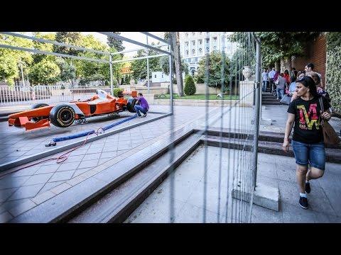 Баку: Формула-1 глазами безбилетников