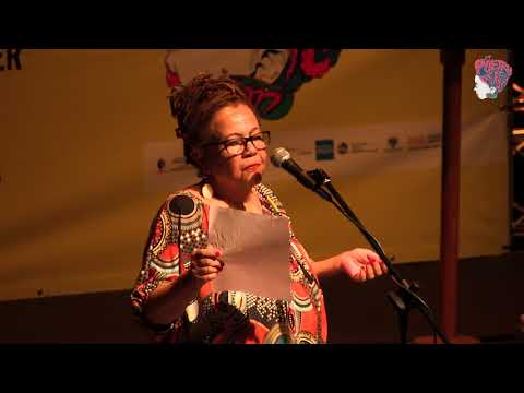 MYESHA JENKINS AT POETRY AFRICA 2017