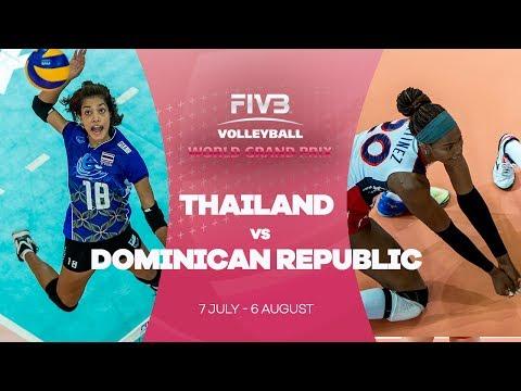 Thailand v Dominican Republic - FIVB World Grand Prix