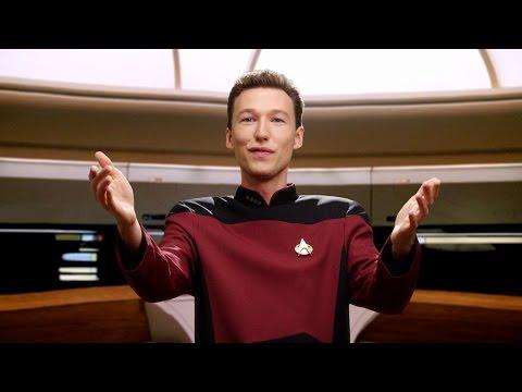Data & Picard | Pogo