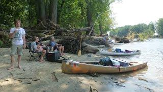 2014 Huck Finn Mississippi River Canoe Adventure