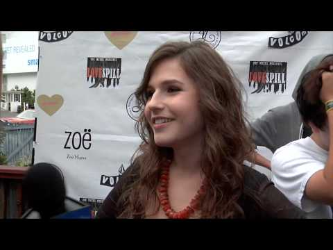 Erin Sanders  Big Time Rush Secrets? at Love Spill Event