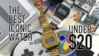 The Best $20 Classic Watch EVERYONE Should Own: Casio AW168 & AW158