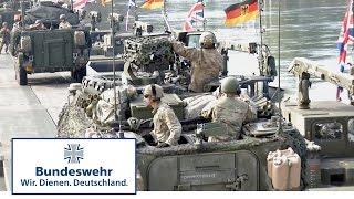 Saber Strike: Soldatenalltag auf dem Marsch - Bundeswehr