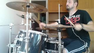 DevilDriver Head on to heartache drum cover