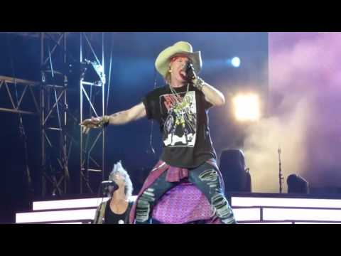Best Axl Rose screams and vocal lines 2016.