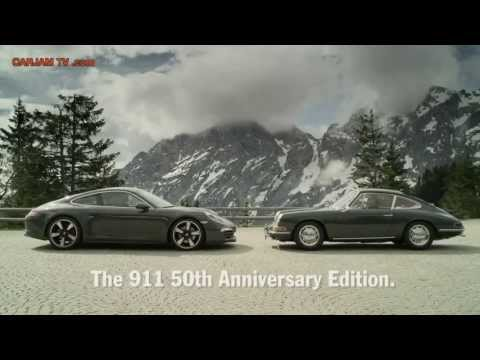 2013 Porsche 911 991 50th Anniversary Edition In Detail Commercial Carjam TV HD 2014