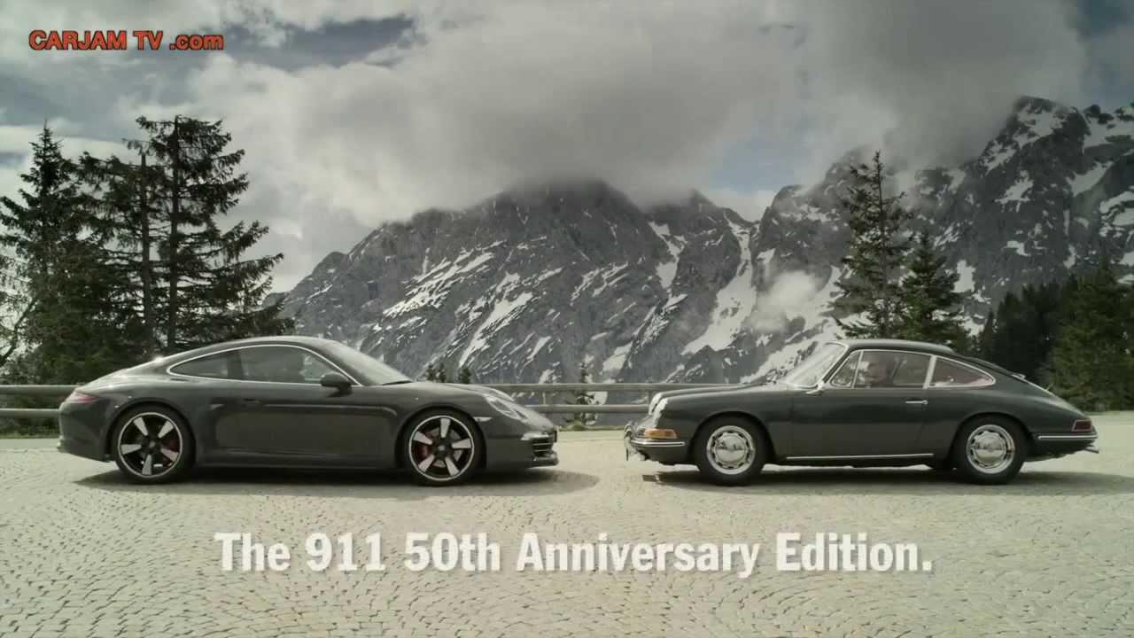 2013 porsche 911 991 50th anniversary edition in detail commercial carjam tv. Black Bedroom Furniture Sets. Home Design Ideas