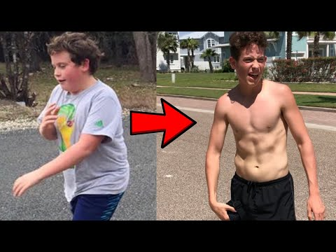 How I Lost 50 lbs At 13 Years Old